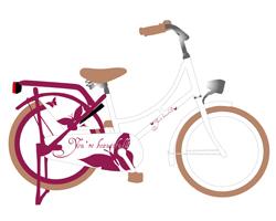 Print Design Fahrrad