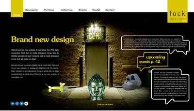 Webdesign Interior