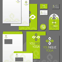 Modern and unique logo for yoga trainings